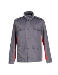 M.Grifoni Denim Coats And Jackets Jackets Men Grey