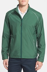 Men's Cutter And Buck 'Beacon' Weathertec Wind And Water Resistant Jacket Hunter Green