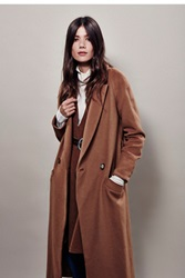 Free People Slim Long Overcoat