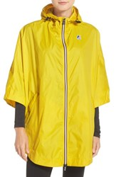 K Way Women's 'Morgan 3.0' Rain Poncho Yellow