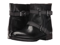 Sebago Laney Mid Boot Black Leather Women's Boots