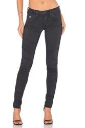 G Star 5620 Custom Mid Rise Skinny Black