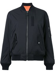 G.V.G.V. Lace Up Back Blouson Jacket Black