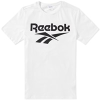 Reebok Chest Vector Graphic Tee White