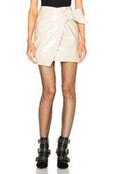 Isabel Marant Anders Romy Trench Skirt In Neutrals