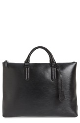 Ben Minkoff 'Devin' Embossed Leather Tote Black
