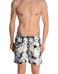 Franks Swimming Trunks White