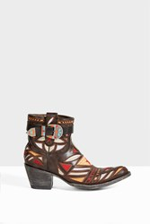 Jessie Western Women S Embroidered Leather Cowboy Boots Boutique1 Brown