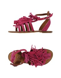 Le Stelle Footwear Sandals Women Fuchsia