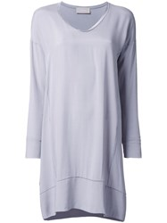 Drumohr T Shirt Dress Grey