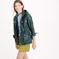J.Crew Hooded Downtown Field Jacket With Zip Out Vest