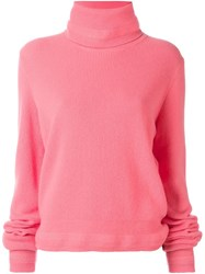 Paul Smith 'Contrasting Color Sleeve' Sweater Pink Purple