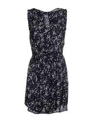 Timeout Dresses Short Dresses Women Dark Blue