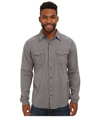 Ecoths Wallace Long Sleeve Shirt Smoked Pearl Men's Short Sleeve Button Up Gray