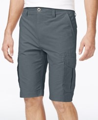 Ocean Current Men's Peached Cargo Shorts Dusty Blue