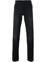 7 For All Mankind Stretch Slim Fit Jeans Black
