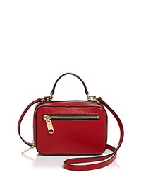 Milly Astor Mini Satchel Red Gold