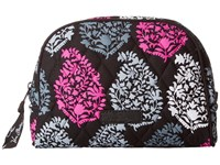 Vera Bradley Medium Zip Cosmetic Northern Lights Cosmetic Case White