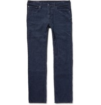 Polo Ralph Lauren Varick Slim Fit Cotton Corduroy Trousers Navy