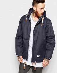 Fat Moose Sailor Wax Jacket Navy