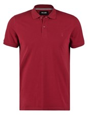 Only And Sons Onspique Polo Shirt Cabernet Dark Red
