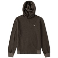 C.P. Company Patch Logo Popover Hoody Green