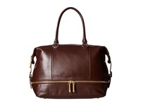 Hobo Fast Lane Satchel Chocolate Satchel Handbags Brown