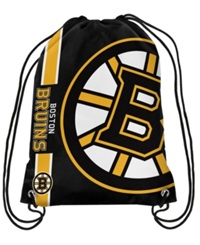 Forever Collectibles Boston Bruins Big Logo Drawstring Bag Black