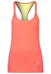 Reebok Sports Shirt Punch Pink Neon Yellow