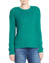 Buffalo David Bitton Textured Knit Pullover Teal
