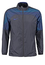Nike Performance Revolution Tracksuit Top Black Black Deep Royal Blue
