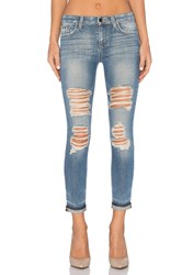 Joe's Jeans Bev Collector's Edition The Markie Crop Light Blue