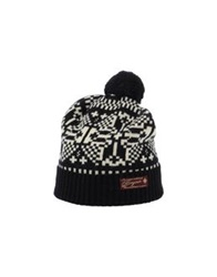 Scotch And Soda Hats Black