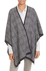 Soft Joie Women's 'Stacee' Plaid Knit Poncho Wrap