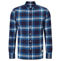 Penfield Riverview Check Shirt Blue