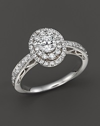 Bloomingdale's Diamond Engagement Ring In 14K White Gold 1.0 Ct. T.W.