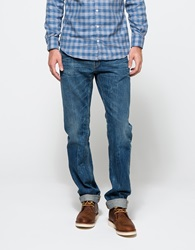Shockoe Atelier Slim Six Medium Wash Washed Indigo