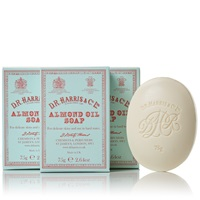 D.R. Harris And Co. Almond Oil Hand Soap Box Of Three 3 X 75G