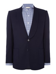 Chester Barrie Eastleigh Shawl Blazer Navy