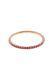 Ileana Makri Pink Sapphire And Rose Gold Ring