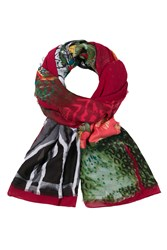 Desigual Alabama Re Foulard Red