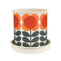 Orla Kiely Big Spot Flower Plant Pot Large