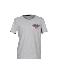 Cesare Paciotti 4Us T Shirts Grey