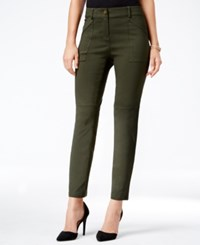 Styleandco. Style Co. Utility Pocket Skinny Pants Only At Macy's Dark Ivy