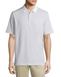 Callaway Micro Dot Short Sleeve Polo Shirt Bright White