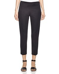 Elie Tahari Juliette Cropped Slim Pants Black
