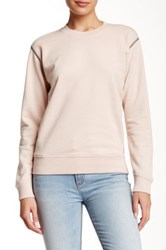 Marc By Marc Jacobs Crew Neck Sweatshirt Pink