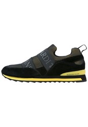 Trussardi Jeans Trainers Black Yellow