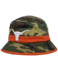 Top Of The World Texas Longhorns Sneak Attack Bucket Hat Woodlandcamo
