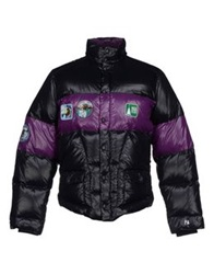 The Royal Pine Club Down Jackets Black